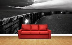 Wall-Art Couch, Wall Art, Furniture, Home Decor, Settee, Decoration Home, Sofa, Room Decor, Home Furnishings