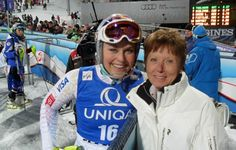 Two greatest legends in women ski racing - Lindsey Vonn and Annemarie Pröll-Moser