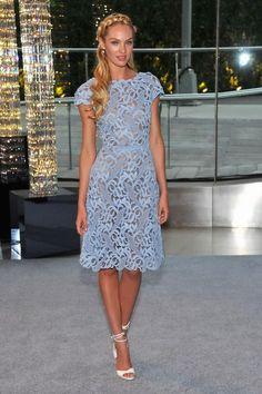 Candice Swanepoel red dress   Candice Swanepoel