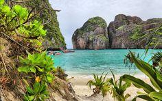 Liebliche #Bucht inmitten der üppigen Vegetation #Phukets