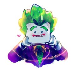 i cannot love this pure man enough - *AMARETTO。 Joker Cartoon, Joker Dc, Joker And Harley Quinn, Kids Cartoon Characters, Cartoon Kids, Jocker Batman, Joker Images, Funny Iphone Wallpaper, Lego Batman Movie