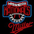 Miller Washington Nationals MLB Neon Sign, Miller with MLB Neon Signs | Beer with Sports Signs. Makes a great gift. High impact, eye catching, real glass tube neon sign. In stock. Ships in 5 days or less. Brand New Indoor Neon Sign. Neon Tube thickness is 9MM. All Neon Signs have 1 year warranty and 0% breakage guarantee.
