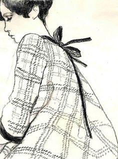 Antonio Lopez : Fashions of the Times XVIII, 1967