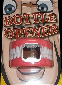 Novelty Denture Bottle Opener - Teeth Design - Ideal Party Gift
