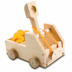 Kids Woodworking Building Set - Truck Catapult  - Educational Toys Planet - $13