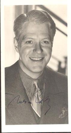 """Nelson Eddy Signed Autographed 3 1 2"""" x 6"""" Black White Photo JSA COA   eBay"""