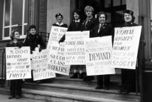Bus Conductors in London Demand Equal Opportunity - Fred Mott/Evening Standard/Getty Images Feminist Theory, Feminist Movement, Feminist Quotes, Feminist Art, Feminism Today, Second Wave Feminism, History Essay, Equal Opportunity, Positive People