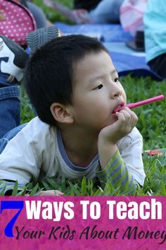 7 Ways To Teach Your Kids About Money  It's easier than you may think to teach…