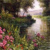 Daniel F. Gerhartz Flower Paintings-AmO Images-AmO Images