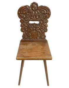 Antique Swedish chair