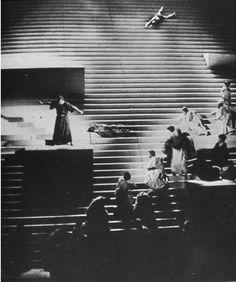 Stage Design, Oedipus Rex, 1963 | Adolphe Appia