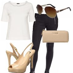 Un look casual chic per chi ama vestire comodamente tutti i giorni senza…