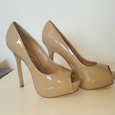 Cathy jean shoes Beautiful deep open toe shoes. Only used two times Cathy Jean Shoes Heels