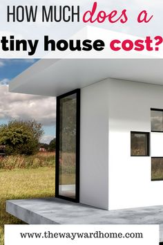 Tiny House Prices, Tiny Home Cost, Small Houses On Wheels, House On Wheels, Simple Pictures, Tiny House Movement, Tiny House Design, Rv Living, House Floor Plans