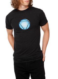 Marvel Iron Man Arc Reactor T-Shirt | Hot Topic