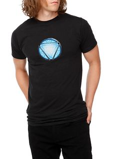 Marvel Iron Man Arc Reactor T-Shirt | Hot Topic