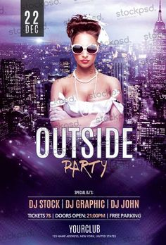 Outside Party Free Flyer PSD Template - http://freepsdflyer.com/outside-party-free-flyer-psd-template/ Enjoy downloading the Outside Party Free Flyer PSD Template created by Stockpsd!  #Club, #Dane, #EDM, #Event, #Girls, #Night, #Nightclub, #Outdoor, #Party, #Sexy