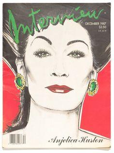 Interview  featuring work by Bernstein and Warhol  Dec 1987