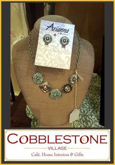 Cobblestone Village Gifts located in Waynesville, Ohio has all your fashion needs! http://www.cobblestonevillageandcafe.com/