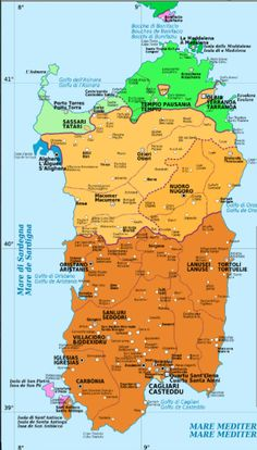Language Map of Sardinia Uruguay Tourism, Sweden Places To Visit, Greece Today, Ireland Beach, Brazil Carnival, Southern Europe, Historical Maps, Monaco, Italy Travel