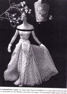 GRES   Evening Gown, 1954