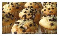 Tim Horton's Copy Cat Chocolate Chip Muffins. FINALLYY!!!
