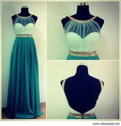Like an ocean princess' dress. I love it *-*
