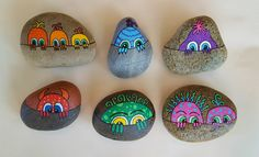 Jeepers Creepers! - Painted Rocks