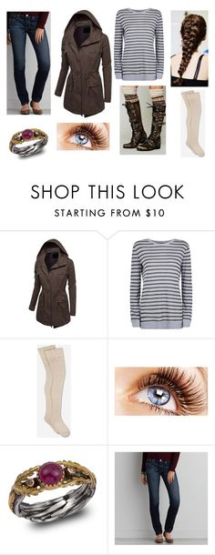 """""""Quidditch World Cup"""" by amanda-gail on Polyvore featuring J.TOMSON, T By Alexander Wang, UGG, Emma Chapman and American Eagle Outfitters"""