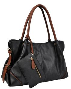 Eabag Large Shopper Hobo Shoulder Handbag with Coin Wallet ...