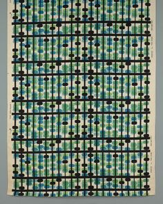 Abacus textile by Paul Rand.