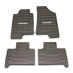 Hummer Accessory - OEM Hummer H3 Custom Vinyl Floor Mats