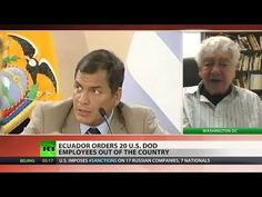 Ecuador expels all Pentagon employees from US embassy - YouTube