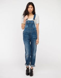 Quincy Overalls | selected by jamesdrygoods.com for the made in america: contemporary project | #madeinusa |
