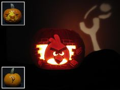 angry birds Pumpkins | More Geeky Halloween Costumes - Switched Galleries
