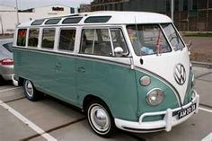 Love old VW vans...