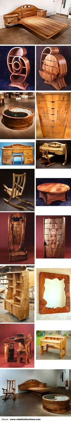 Amazing Furniture by Rob Elliot Furniture | WoodworkerZ.com