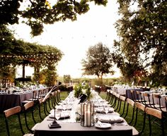 One hell of a magical evening in Yountville Rosemary Events Nicole Sillapere www.LaurenandAbby.com