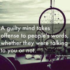 A guilty mind