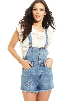BLANK NYC Overall Shorts I love overalls and now they ate cute! Score!