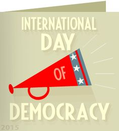 Antoinette, thank you for taking action on international day of democracy. 'We always hear about the rights of democracy, but the major responsibility of it is participation.' ~ Wynton Marsalis