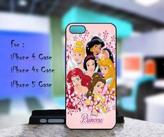 Case iphone 4 and 5 for Disney Princess