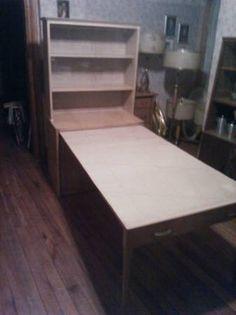 Vintage Saginaw Furniture Shops Expand O Matic Hutch   $450 (Tipp City  Ohio) ;