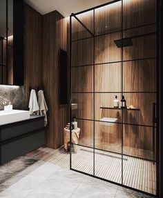 Home Interior Modern Bathroom Inspiration // Mint Lighting Design Bathroom Design Inspiration, Bad Inspiration, Design Ideas, Design Design, Toilet Design, Bathroom Design Luxury, Modern Interior Design, Modern Lighting Design, Design Interiors