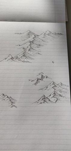 Fantasy Map Making, Fantasy Art, Pencil Art Drawings, Art Drawings Sketches, Painting & Drawing, Wreath Drawing, City Drawing, Bored At Work, Pen Art