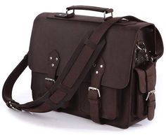 Genuine Handcrafted Selvaggio Leather Bag for Business Professionals