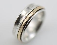 Tsutsumu Spinner Ring  spinning ring meditation ring fidget