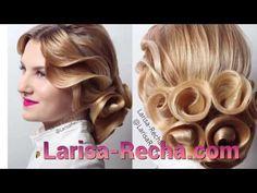"""Свадебная причёска на длинные волосы"""" Букет невесты """" с элементом """" роза """" - YouTube"""