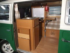 Photos of our VW 1972 Westfalia Continental, with our KI Westy Interior after 4 years of Camping, showing and daily use!