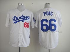 http://www.xjersey.com/dodgers-66-puig-white-jerseys.html DODGERS 66 PUIG WHITE JERSEYS Only 32.17€ , Free Shipping!